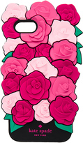 Kate Spade Silicone Roses iPhone 7 Case