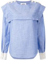 Chloé buttoned sailor blouse