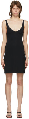 Wolford Black Pure Tank Top Dress