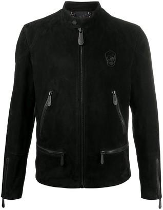 Philipp Plein Skull moto jacket
