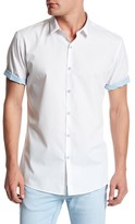 Topman Short Sleeve Slim Fit Shirt