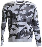 Valentino Grey Camouflage Neoprene Sweater