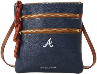 Dooney & Bourke MLB Braves N S Triple Zip Crossbody