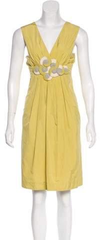 Hoss Intropia Appliqué Knee-Length Dress