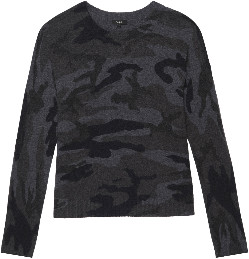 Rails Louie Sweater - Charcoal Camo - M