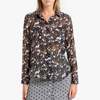 FRNCH Clotilda Printed Shirt with Long Sleeves