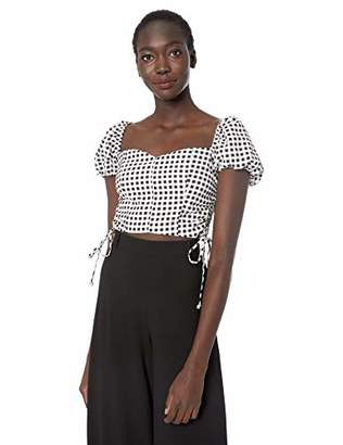 LIKELY Women's Cavanaugh Gingham Corset top