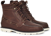 Sperry A/O Lug Leather W/P Boot Brown