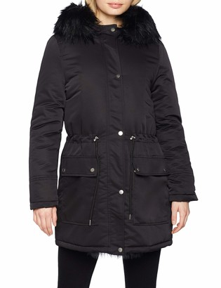 New Look Women's Miami Pelted Fur Parka