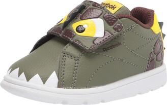 Reebok Baby Boys Complete Clean 2.0 Animal Critters Slip On Sneaker