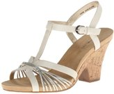 Bandolino Women's Bellwind Synthetic Wedge Sandal