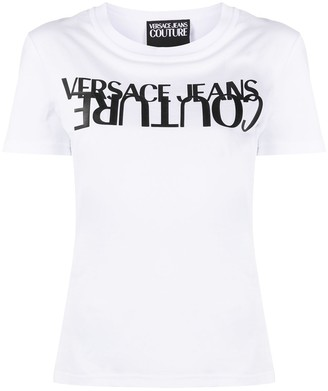 Versace Jeans Couture logo-print crew neck T-Shirt