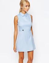 Fashion Union Aline Shift Dress with Collar