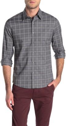 Michael Kors Plaid Print Slim Fit Shirt