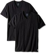 Calvin Klein Men's 2-Pack Cotton-Stretch V-Neck T-Shirt