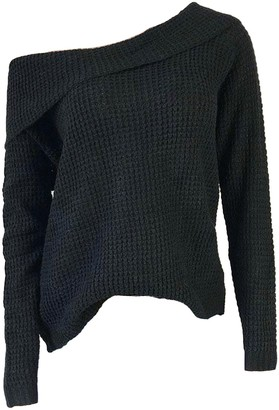 Goodnight Macaroon 'Edry' Fold Over Off-the-Shoulder Slouchy Sweater (5 Colors)