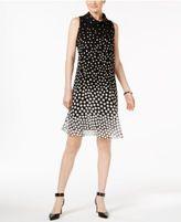 Jessica Howard Plus Size Printed Shift Dress