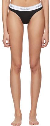 Calvin Klein Underwear Black Modern Thong