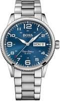 BOSS Boss Blue Sunray Date Dial Stainless Steel Bracelet Mens Watch
