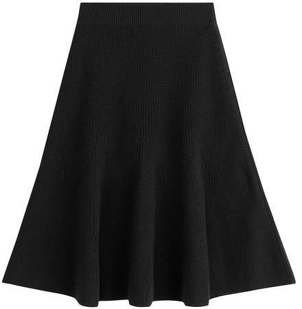 Alexander McQueen Wool Skirt