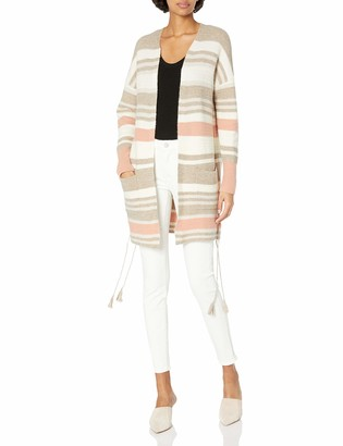 Lucky Brand Women's Stripe Cardigan Sweater