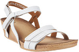 Clarks Leather Wedge Sandals - Alto Gull