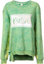 Alchemist faded patch sweatshirt