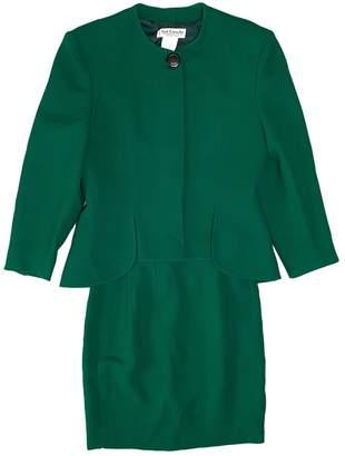 Guy Laroche Green Wool Jackets