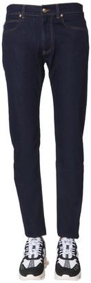 Versace Patch Pocket Detail Jeans