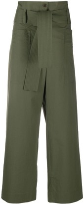 P.A.R.O.S.H. Canyon belted trousers