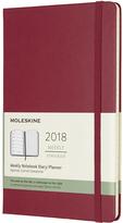 Moleskine Large Berry Rose 2018 Twelve-Month Weekly Planner