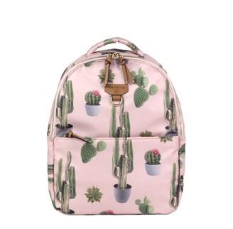 TWELVElittle Mini-Go Backpack Diaper Bag, Cactus Print