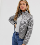 Wednesday's Girl quilted bomber jacket