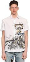 McQ by Alexander McQueen Freeway Printed Cotton Canvas Shirt