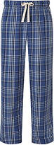 John Lewis Filton Check Lounge Pants, Blue