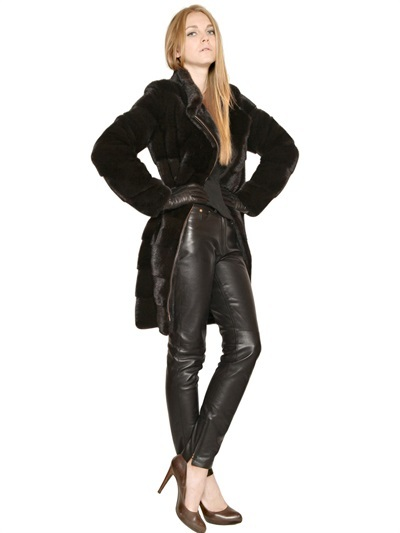 Salvatore Ferragamo Mink Fur Coat