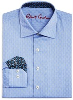 Robert Graham Boys' Checkerboard Print Button Down Dress Shirt - Sizes S-XL