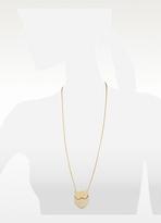 Les Nereides Empreintes Owl Long Necklace