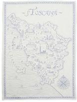 """Sur La Table Toscana Blue Jacquard Kitchen Towel, 30"""" x 20"""""""