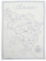 Sur La Table Toscana Blue Jacquard Kitchen Towel