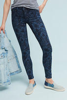 Level 99 Janice Mid-Rise Floral Skinny Jeans