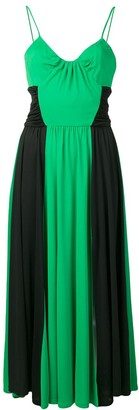 MSGM Ruched Panelled Dress
