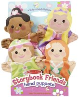 Melissa & Doug Storybook Friends Hand Puppets Plush
