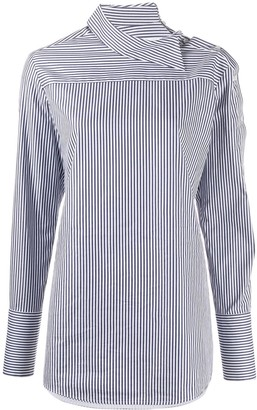 Victoria Victoria Beckham Striped Long-Sleeve Shirt