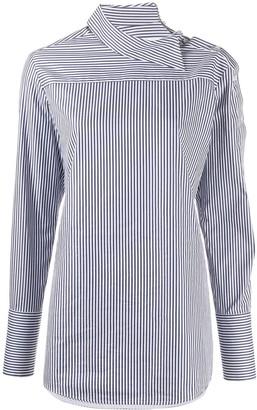Victoria Victoria Beckham striped long-sleeve shirt