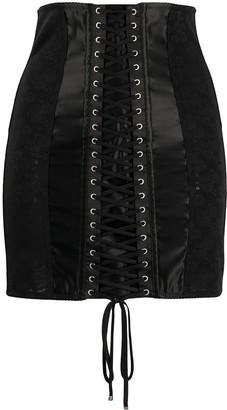 Dolce & Gabbana Jacquard Pencil Skirt