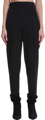 RED Valentino Pants In Black Synthetic Fibers