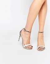 Steve Madden Stecy Barely There Heeled Sandals