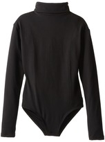 Capezio Team Basic Turtleneck Long Sleeve Leotard (Little Kids/Big Kids)