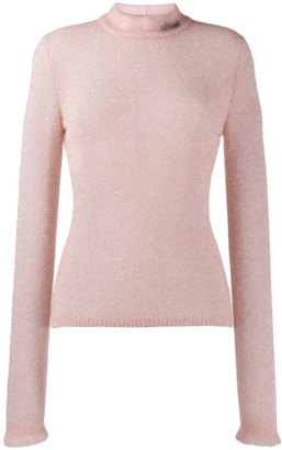 Philosophy di Lorenzo Serafini textured round neck sweater
